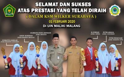 MAN 2 Gresik Raih Prestasi Di KSM 2020 Sewilker Surabaya